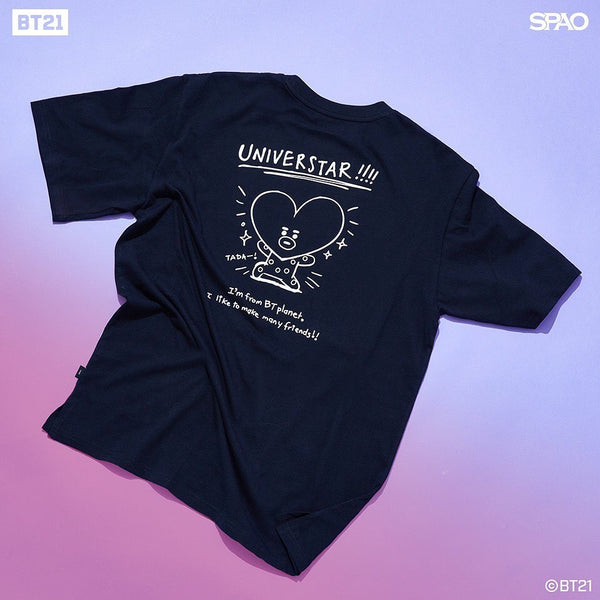 SPAO x BT21 - Drawing T-Shirt
