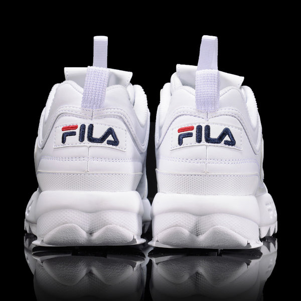 Fila - Disruptor 2 -  Triple White - Sneakers - Harumio
