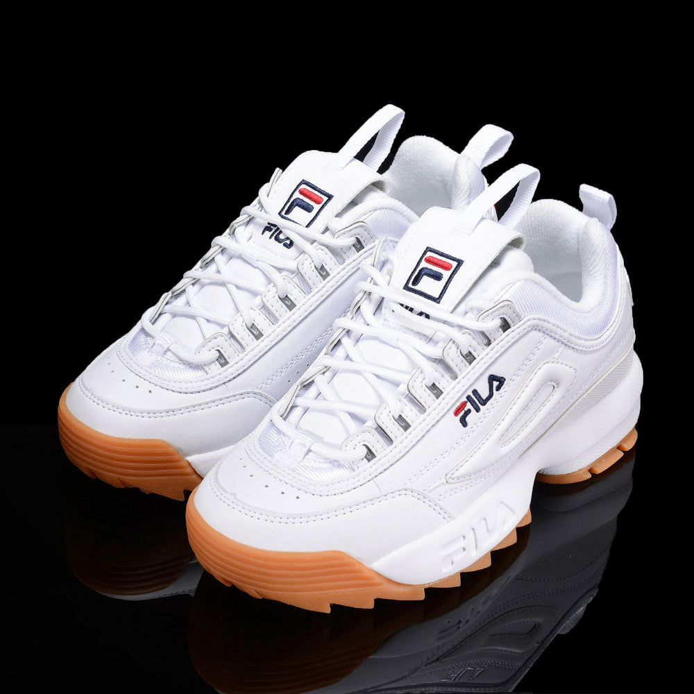 Fila - Disruptor 2 -  White w / Gum Sole