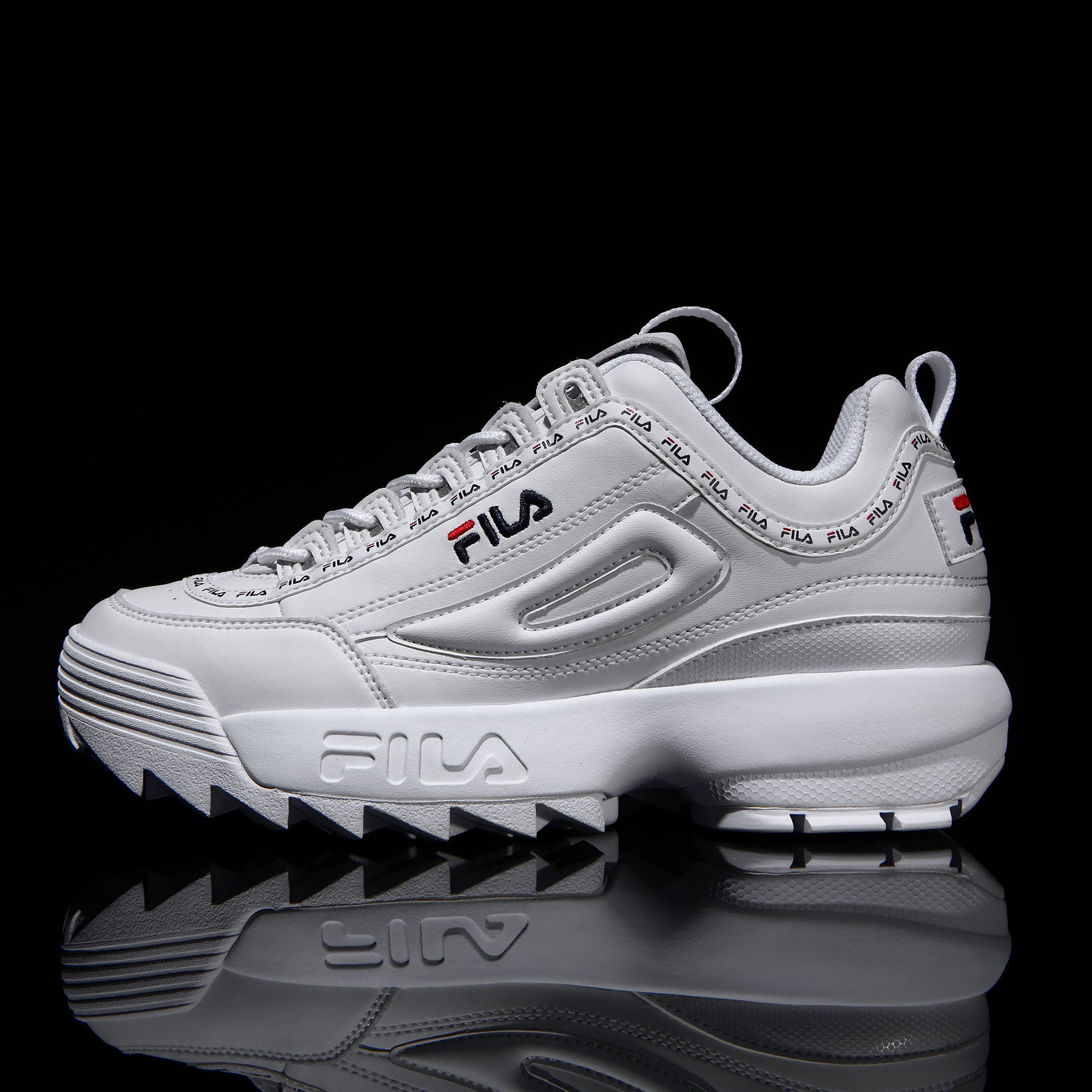 Fila Disruptor 2 Tapey Tape White