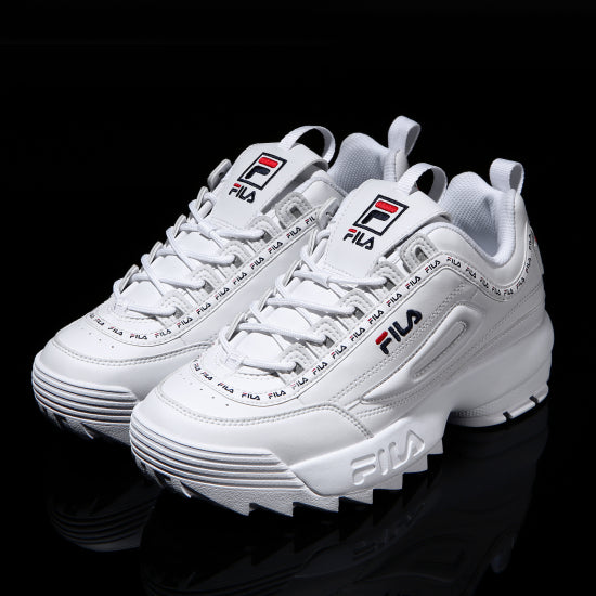 Fila Disruptor 2 - Tapey Tape - White - Shoes - Harumio