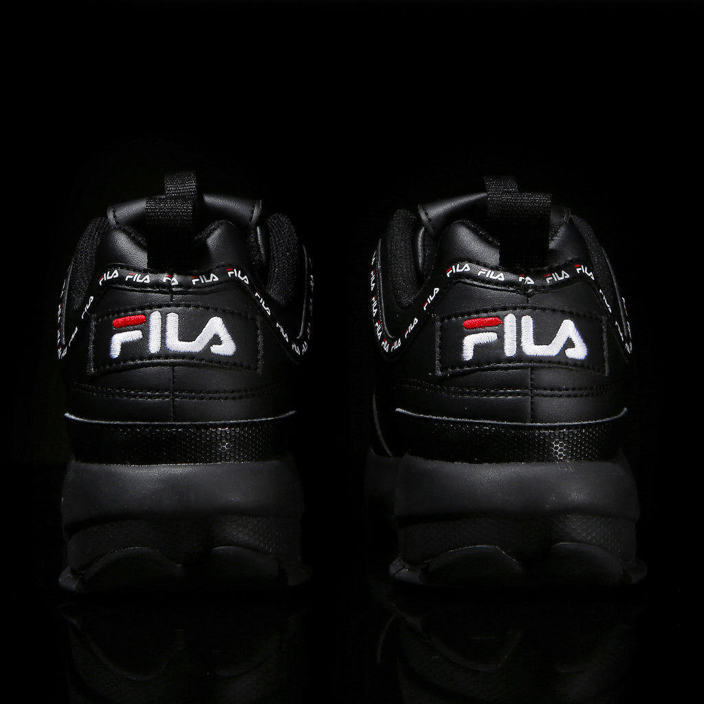 Fila Disruptor 2 - Tapey Tape - Black - Shoes - Harumio