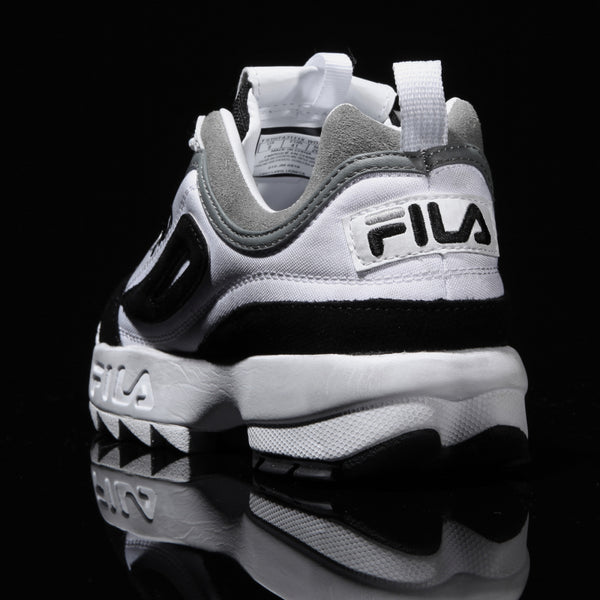 FILA - Disruptor 2  Washing - White Black