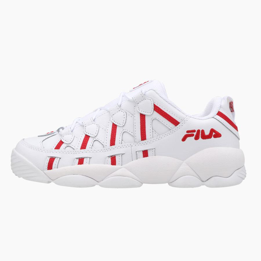 FILA - Spaghetti 95 Low - White Red
