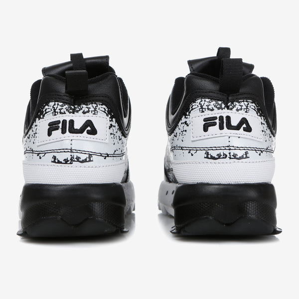 FILA - Disruptor 2 Splatter Sneakers - White Black