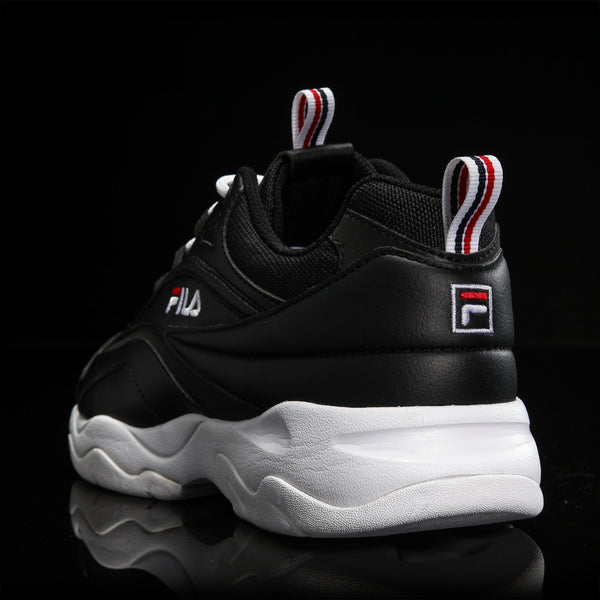 Fila - Filaray- White Black Silver Point - Sneakers - Harumio