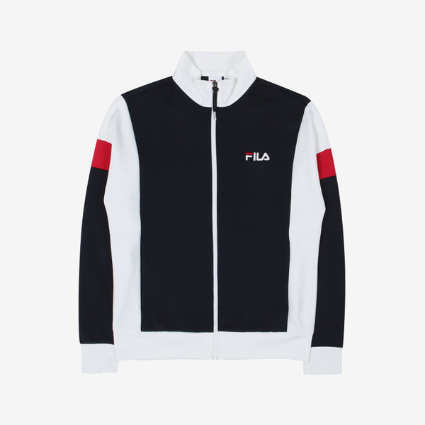 FILA - Heritage Sleeves Color Track Top - Ink Navy