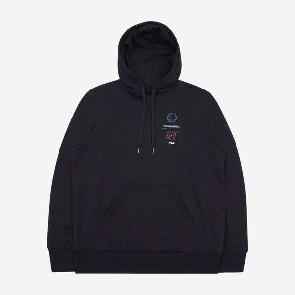 FILA X BTS - Voyager Collection - Loose Fit Hoodie
