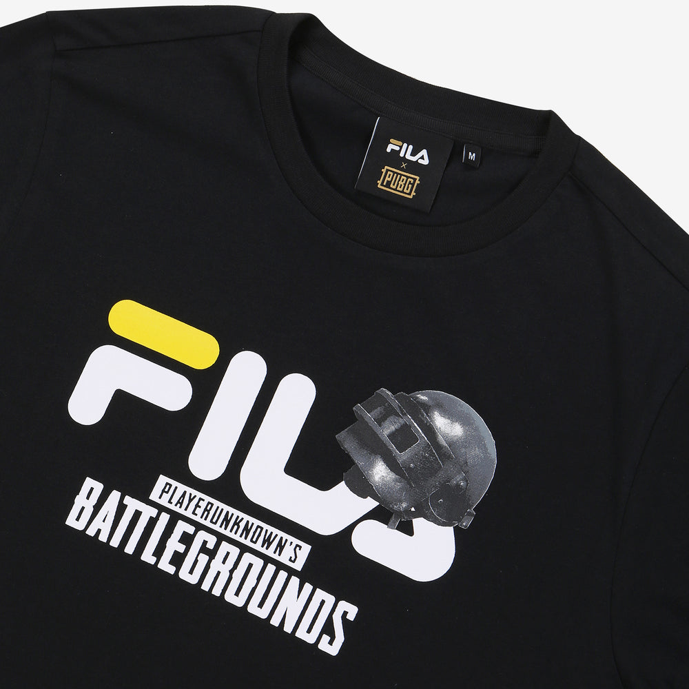 Fila x PUBG - T-shirt - #1 Showcase - Black