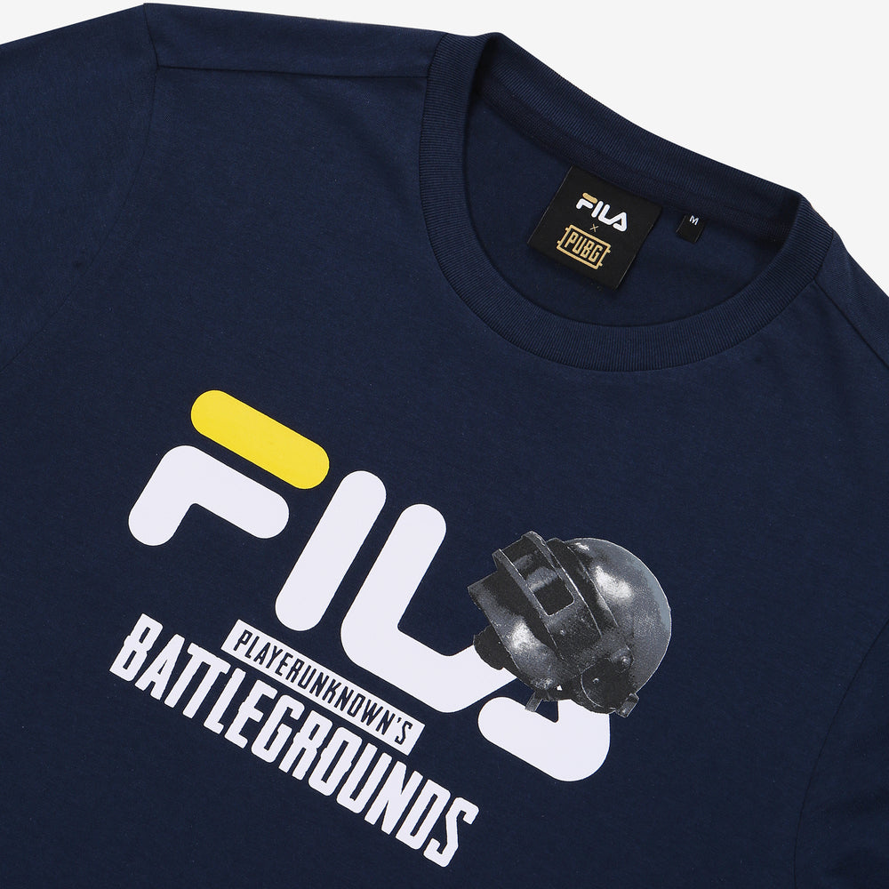 Fila x PUBG - T-shirt - #1 Showcase - Dark Navy