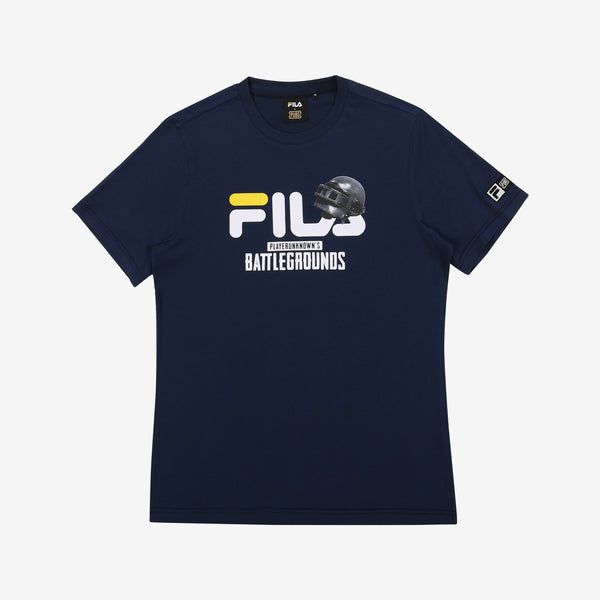 Fila x PUBG - T-shirt - #1 Showcase - Dark Navy - T-Shirt - Harumio