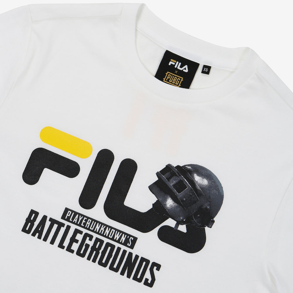 96624878e5b7 Fila x PUBG - T-shirt -  1 Showcase - Off White