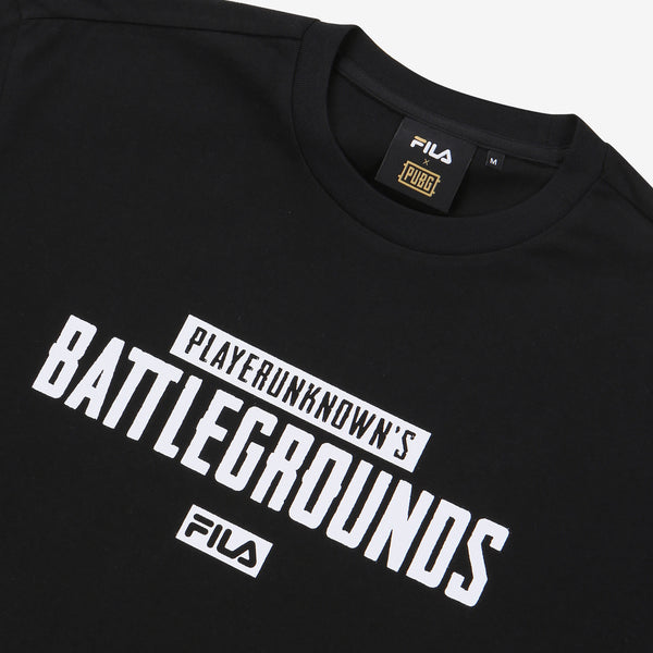 Fila x PUBG - T-shirt - Printed Gameplay - Black - T-Shirt - Harumio