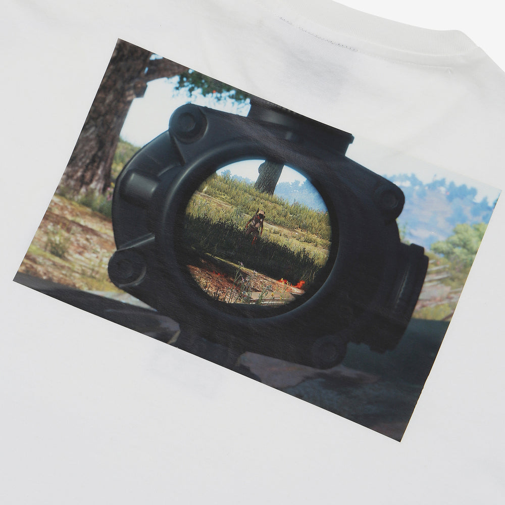 Fila x PUBG - T-shirt - Printed Gameplay - Off White