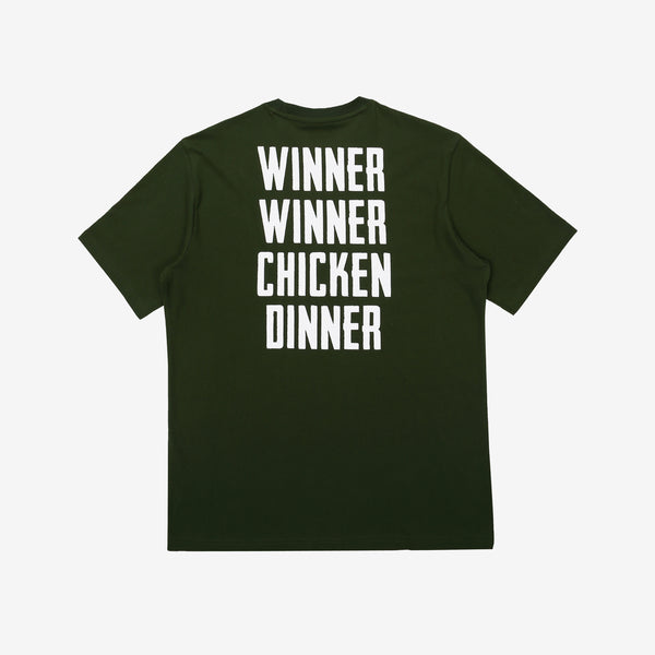 Fila x PUBG - T-shirt - Winner Winner Chicken Dinner - Dark Khaki - T-Shirt - Harumio