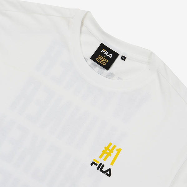 Fila x PUBG - T-shirt - Winner Winner Chicken Dinner - Off White - T-Shirt - Harumio