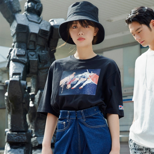 FILA x Gundam - Roblow Kick Warrior T-shirt