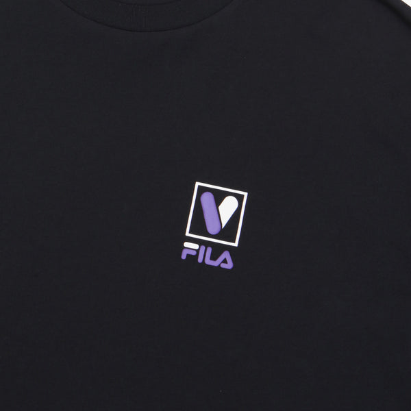 FILA X BTS - Voyager Collection - Loose Fit Lettering T-shirt