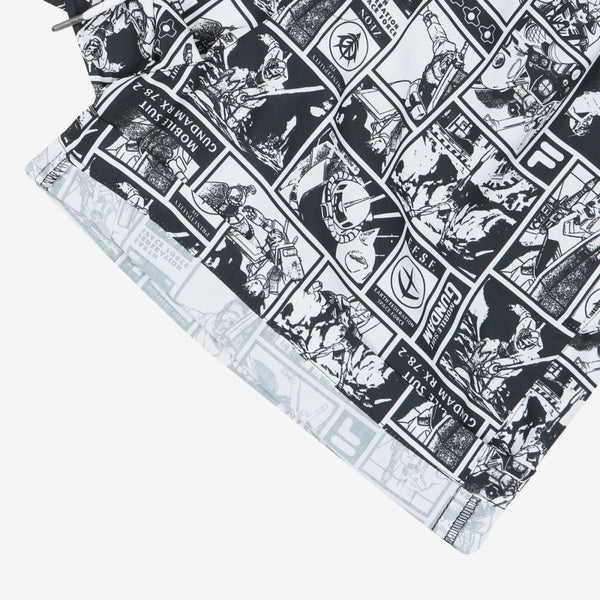 FILA x Gundam - Cartoon Woven Shorts