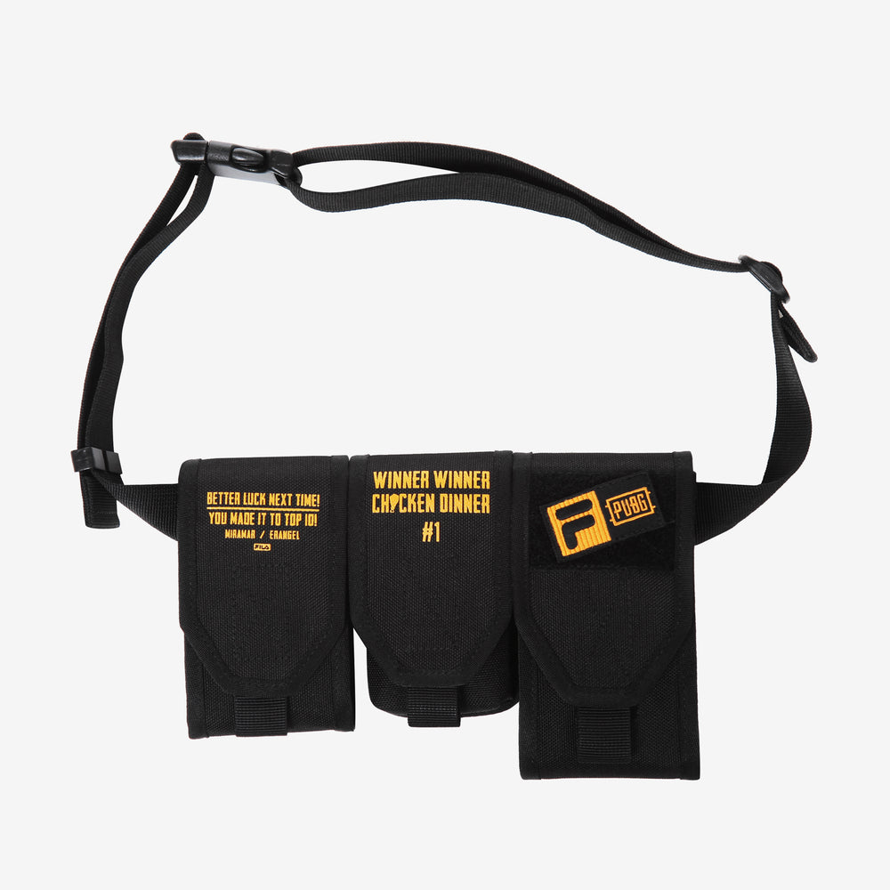 Fila X PUBG - Waist Bag - Black