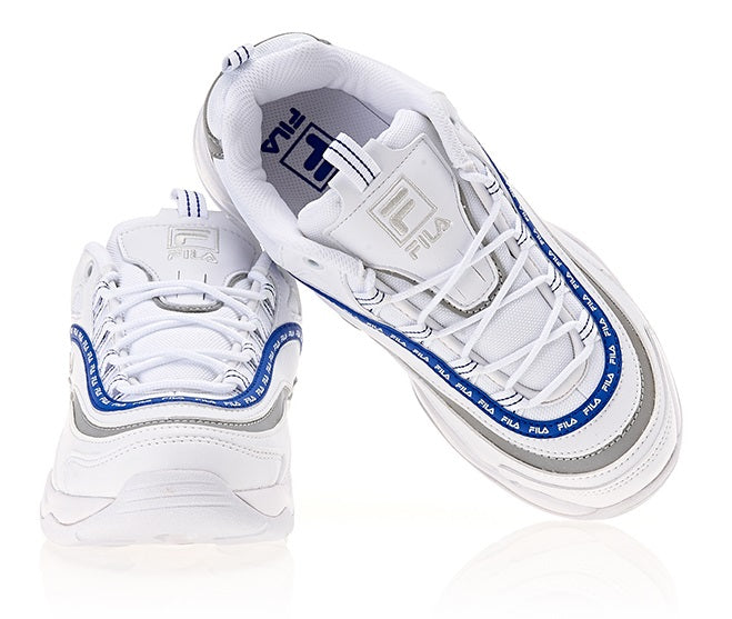 Fila Ray - Tapey Tape - White Navy - Sneakers - Harumio