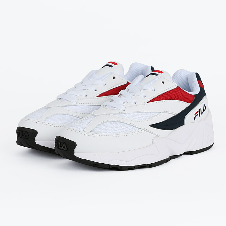 Fila Venom Low 94 - Red / White - Sneakers - Harumio