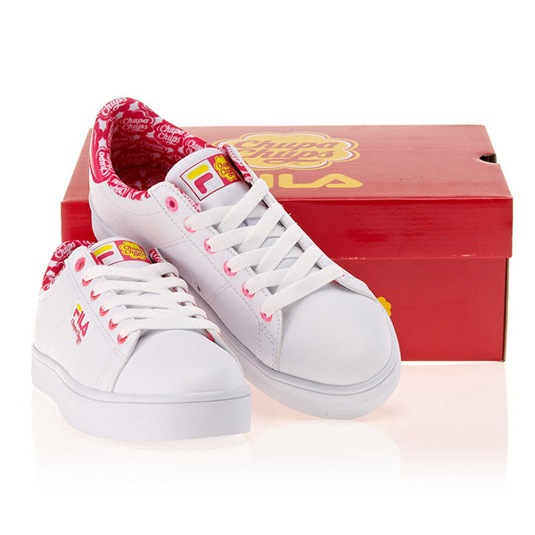 Fila X Chupa Chups - Court Deluxe - Pink Red - Sneakers - Harumio