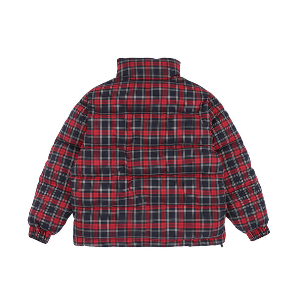 5252 by O!Oi - Lining Puffer Jacket - Red Check