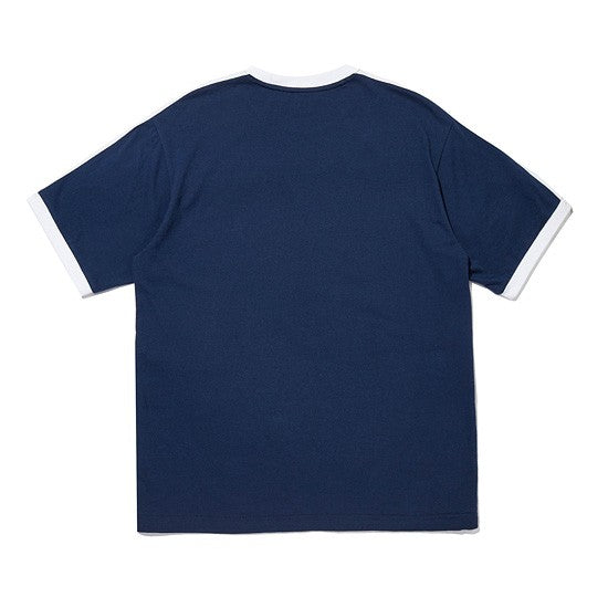 HEAD x 5252 by O!Oi - Logo Point T-shirt - Navy