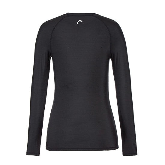 HEAD x 5252 by O!Oi - Logo Basic Rash Guard - Women (Black)