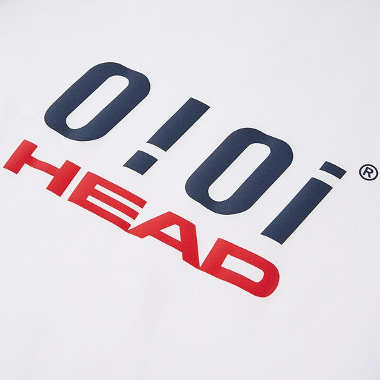HEAD x 5252 by O!Oi - Logo Basic Rash Guard - Women (White)