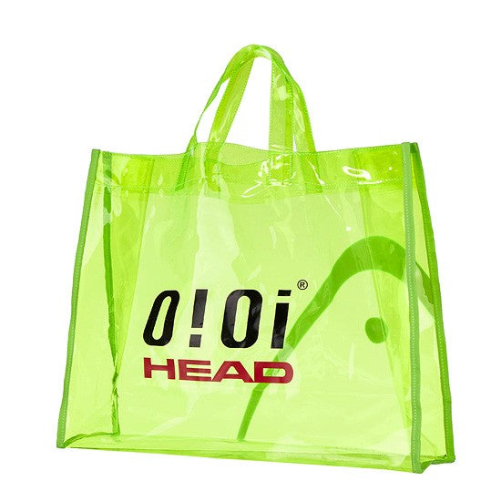 HEAD x 5252 by O!Oi - Logo PVC Bag - Yellow