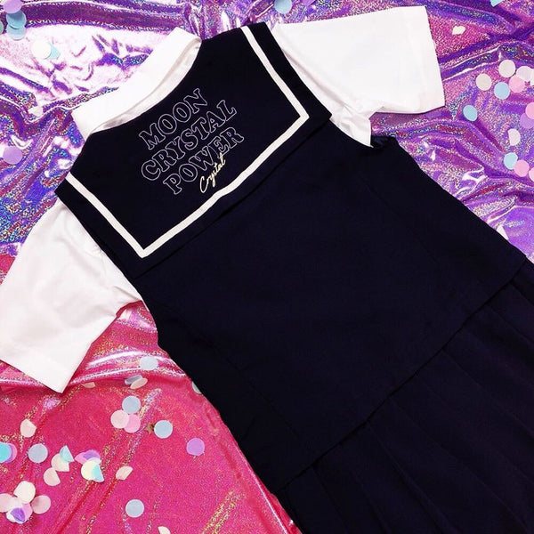Sailor Moon  X SPAO - Sailor Moon Layered Dress
