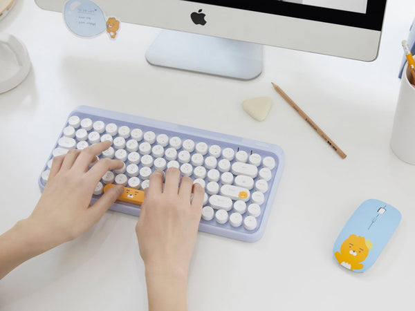 Kakao Friends - Ryan Retro Mini Wireless Keyboard