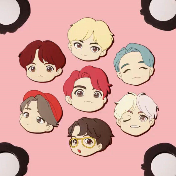 BTS Pop-up Store - House of BTS - Character Mirror