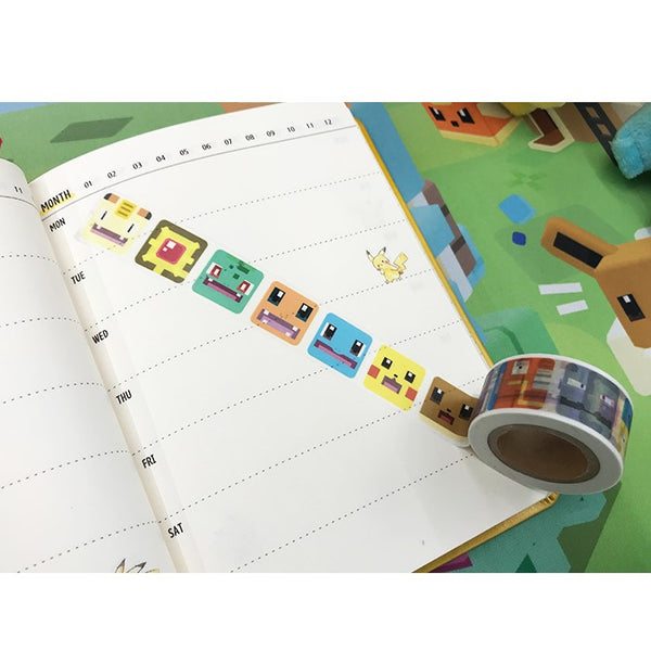 Pokemon - Official Merch - Pokemon Quest Masking Tape