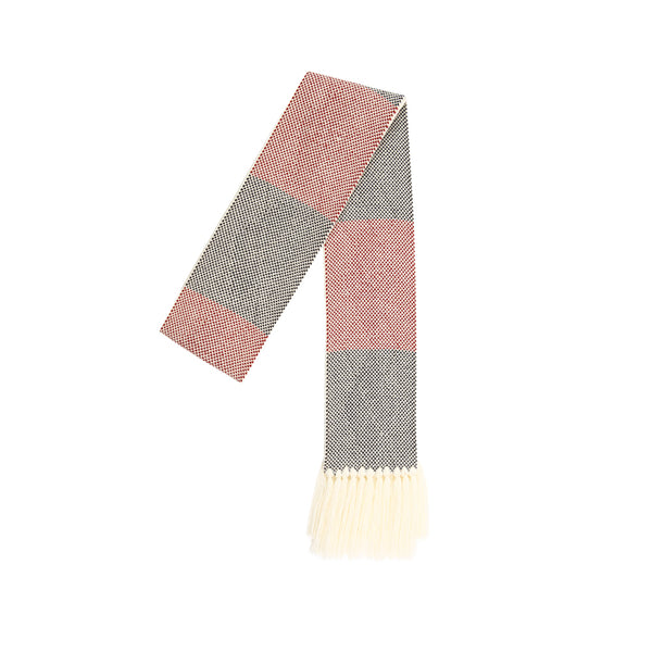 5252 by O!Oi - Argyle Fringe Knitted Muffler
