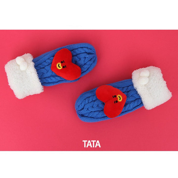 BT21 - Character Knitted Mittens