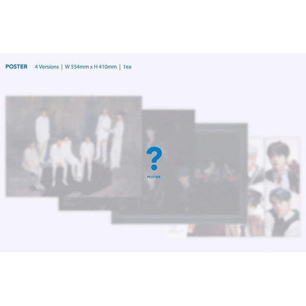 BTS MAP OF THE SOUL : 7 Album (Poster in Tube)