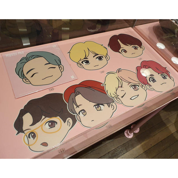 BTS Pop-up Store - House of BTS - Character Mouse Pad