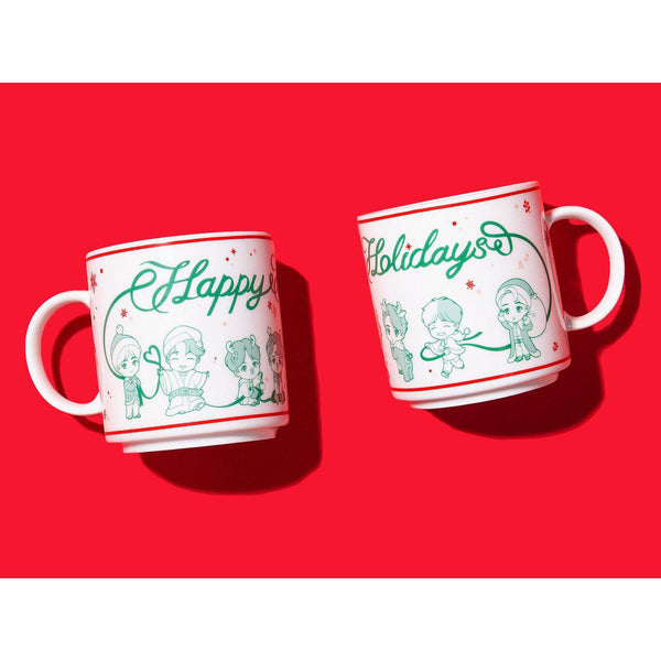 BTS Pop-up Store 2019 - House of BTS - Holiday Mug