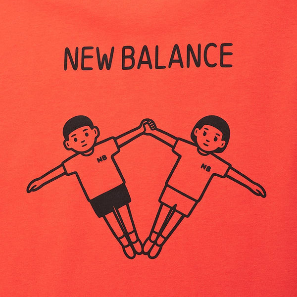 New Balance x Noritake - Sunny T-shirt - Orange
