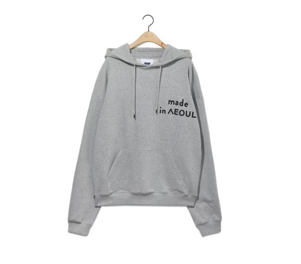 Nohant - Made in Seoul - Hoodie - Gray