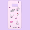 Clue X Esther Bunny - Pink Hard Phone Cover for Galaxy 8