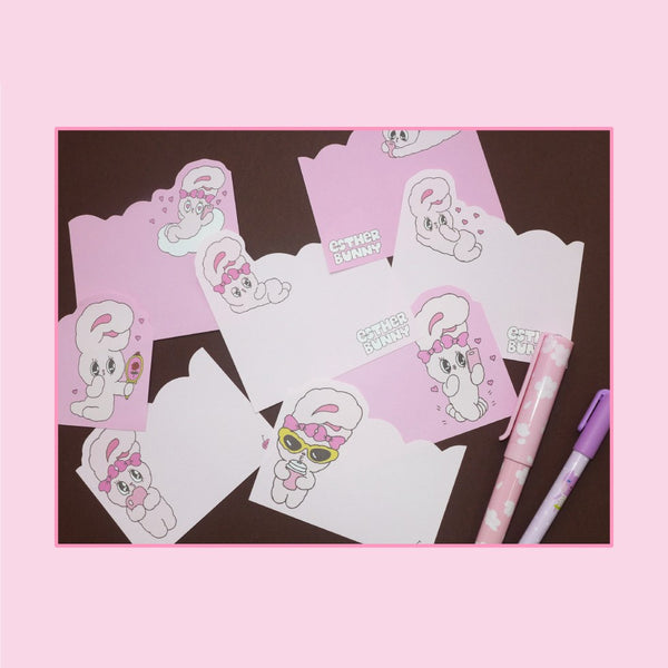 Esther Bunny - Pink Memo Pad