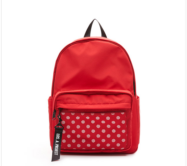 Lap - Naming Backpack - Red - Backpack - Harumio