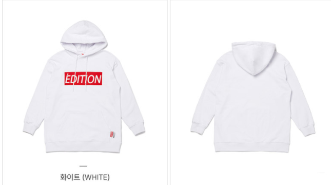 Lap - One Point Hoodie - White - Hoodie - Harumio