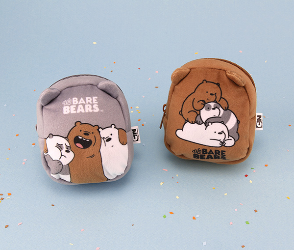 We Bare Bears -  Mini Backpack Pouch - Baby Triplets