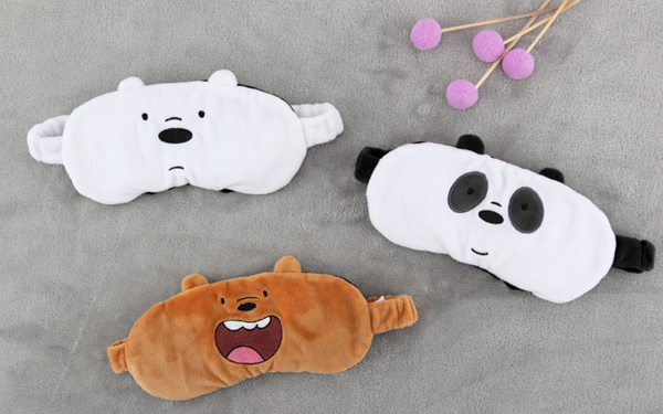 We Bare Bears - Sleeping Eye Patch - Grizzly