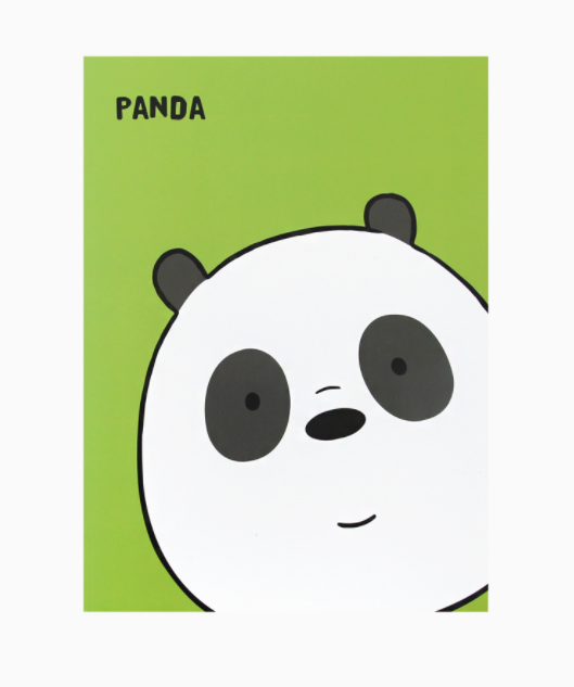 We Bare Bears -  Face Note - Panda